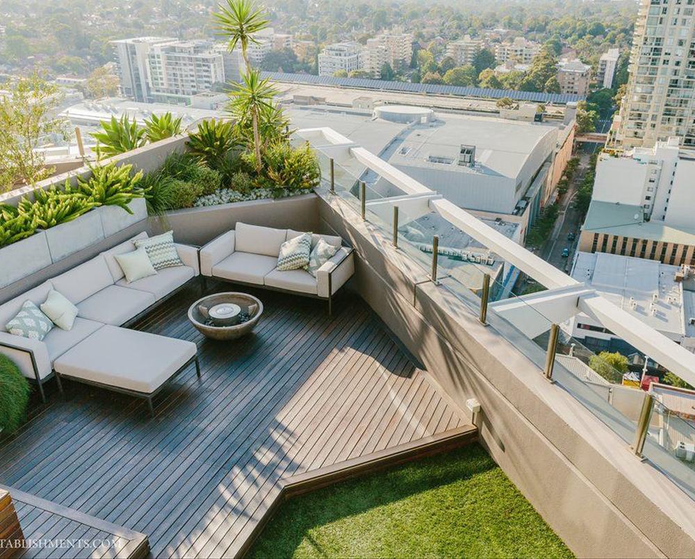 Professional Rooftop Landscape